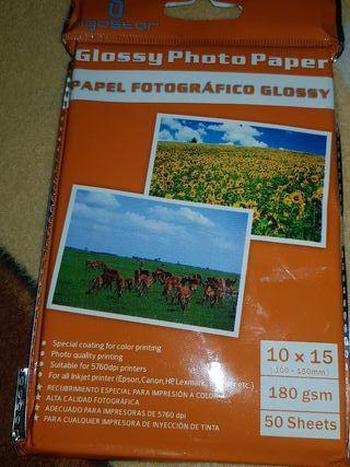 papel de fotos