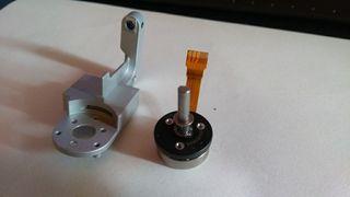 Motor y soporte Yaw gimball Phantom 3