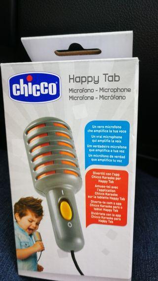 micrófono happy tab