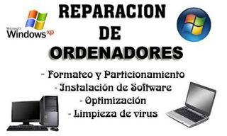 LIMPIEZA Y REPARACION DE ORDENADORES