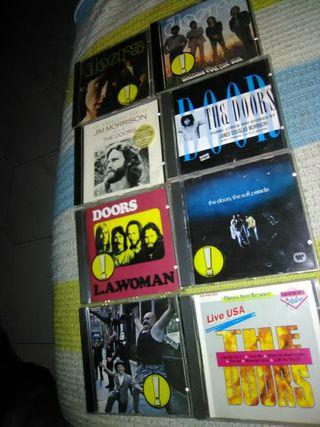 Beatles, Rollings y de doors en CDs originales