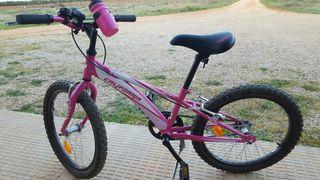 bicicleta bh california rosa
