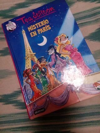 Tea Stilton misterio en Paris