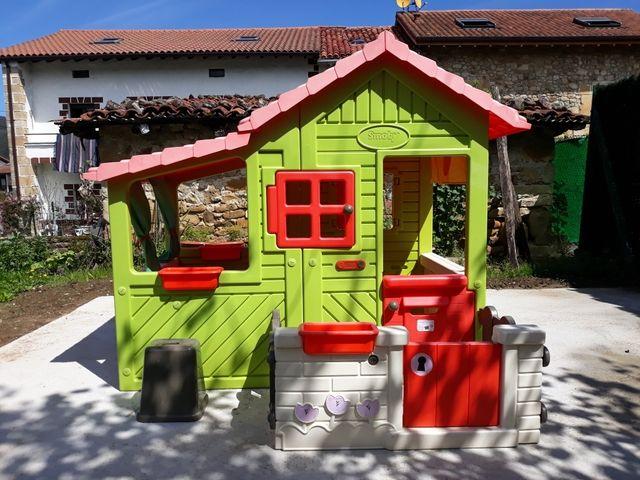 Casa infantil de jardín invernadero de smoby de segunda mano por 190 ...