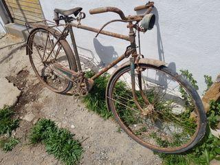 Bicicleta Pamesa d 1960 con matricula