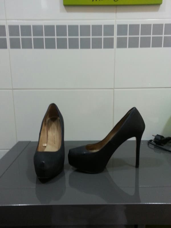 zapato zara 36 negro