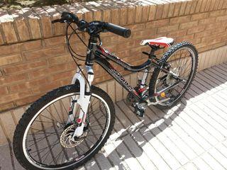 bicicleta montaña freno de disco