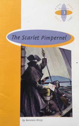 THE SACARLET PIMPERNEL