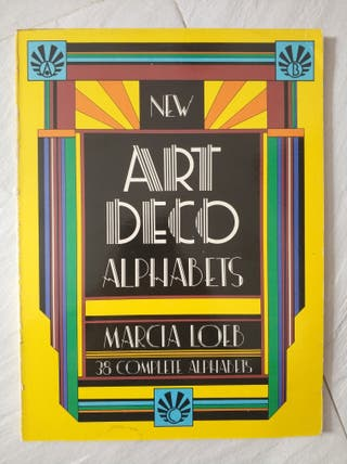 New Art Deco Alphabets