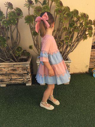 Vestido Pilar Batanero 5 años c/etiqueta