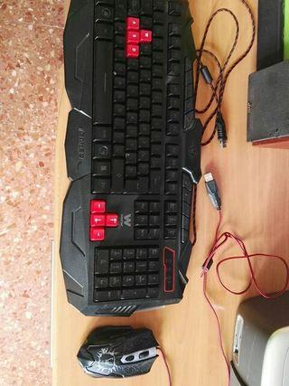 teclado y raton gamer