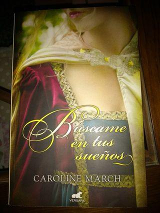 """Libro """"Búscame en tus sueños"""" de Caroline March"""