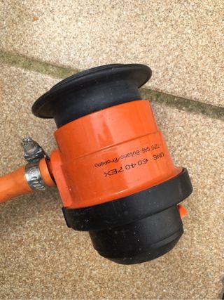 Conector bombona de gas/propano