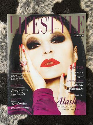 Revista Lifestyle Fangoria Alaska Marzo 2016