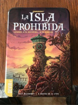 Juego d mesa:La Isla Prohibida