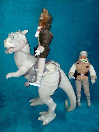 """Star Wars figuras Tauntaun/Han Solo/Luke 12"""""""