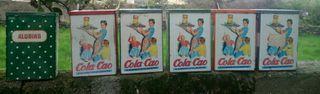 latas antiguas de colacao