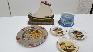 LOTE souvenirs. Madeira.Túnez. Ibiza. Italia
