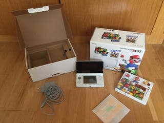 Nintendo 3DS ice white en perfecto estado