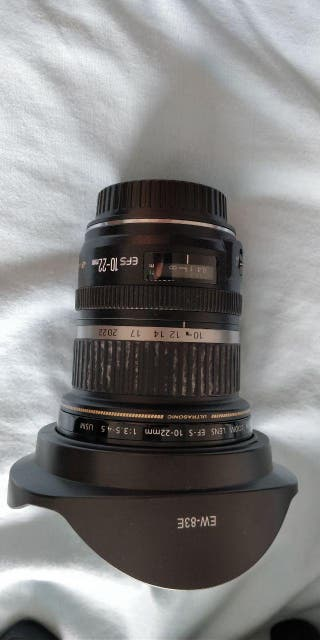 Objetivo Canon 10-22mm f3.5/4.5