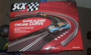 curva scalextric ninco fly exin slot