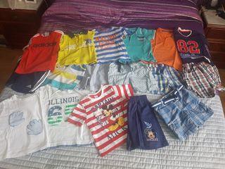 lote ropa niño verano 24/36 meses