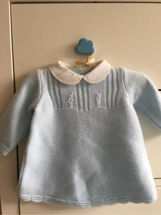 Vestido bebé niña de Pili Carrera