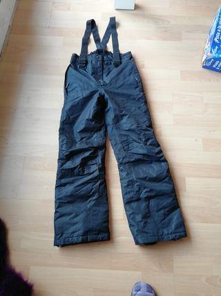 pantalones esquiar niño
