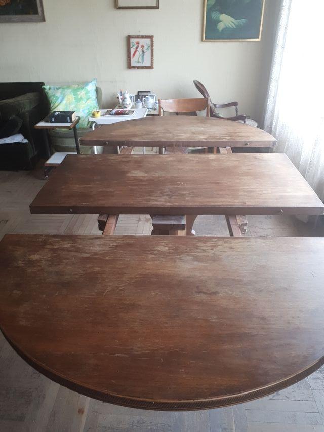 Mesa comedor madera antigua de segunda mano por 40 en madrid en wallapop - Wallapop mesa comedor ...