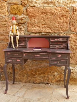Secreter antiguo restaurado de segunda mano por 195 en cubelles en wallapop - Wallapop muebles antiguos ...