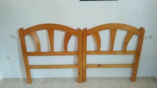 Cabeceros cama madera