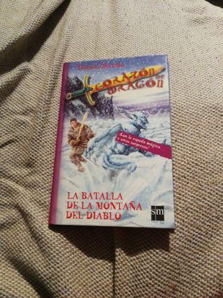 libro lectura corazón de dragon