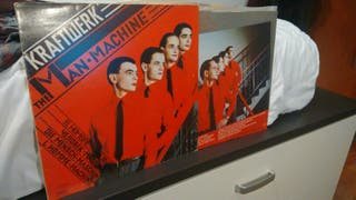 Kraftwerk The Man Machine vinilo