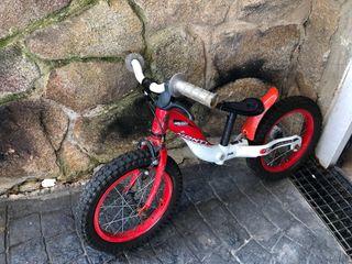 Bicicleta infantil Monty