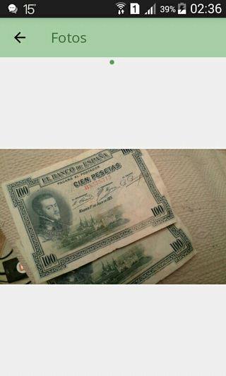 dos billetes