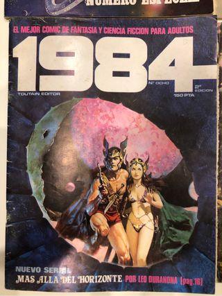 Comics para adultos 1984
