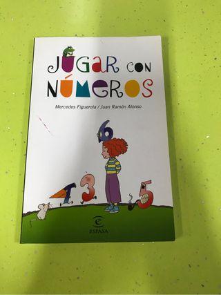 """Libro """" jugar con números"""""""