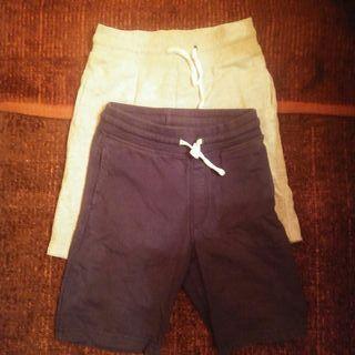Pantalones cortos lote h&m niño 4-5 años