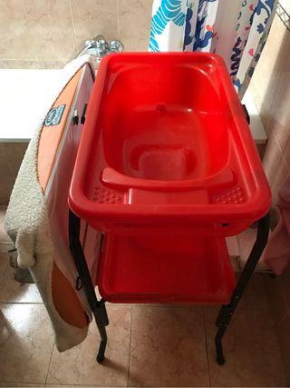 Cambiador-bañera Bebe