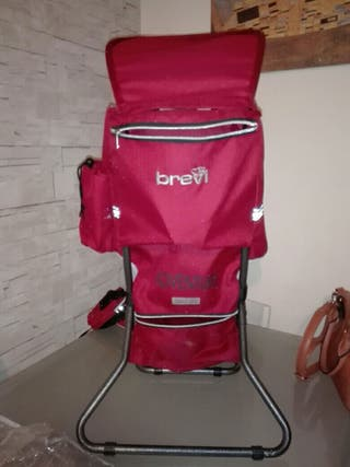 mochila portabebe montaña Brevit
