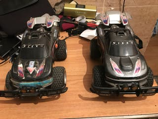 coches telediridos con mandos cargadores y baterias