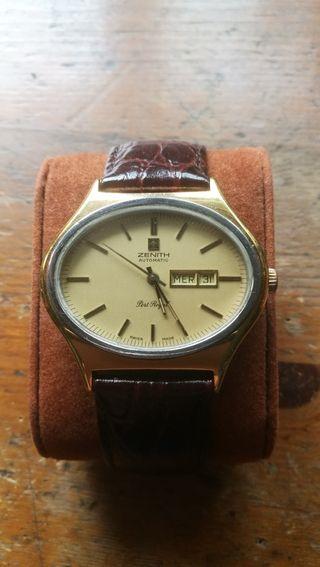 reloj zenith automatico