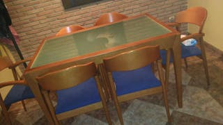 juego de mesa y sillas comedor