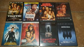 DVDs varios a 3€ cada uno