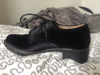 Chaussures Velours