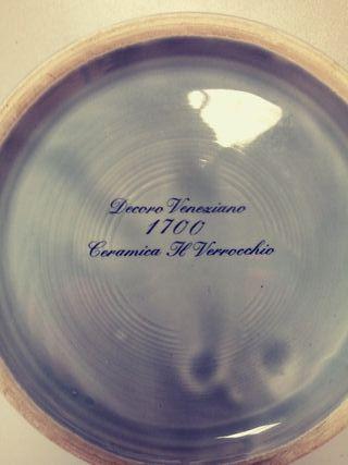 CENICERO CERAMICA H.VERROCCHIO