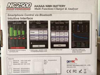 Cargador baterias RC bluethoot