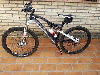 Bicicleta de montaña Orbea gama alta