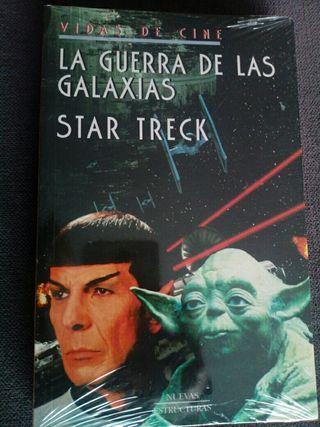 Libro La guerra de las galaxias Star Treck