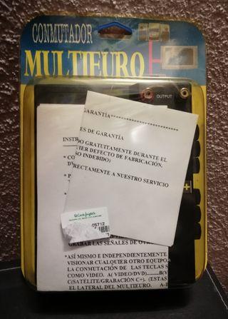 CONMUTADOR MULTI-EUROCONECTOR